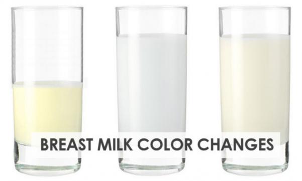 sữa mẹ có màu gì